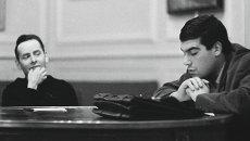 Сергей Довлатов и Яков Гордин. Ленинград, Союз писателей. 1968.