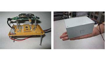 Голографический микроскоп, собранный японскими физиками из подручных материалов