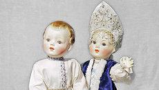 Куклы в русских национальных костюмах