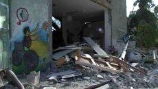 Газа за несколько часов до перемирия с Израилем