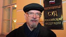 Писатель и лидер незарегистрированной партии Другая Россия Эдуард Лимонов