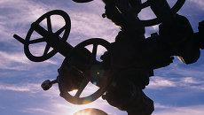 На нефтяной скважине. Архив