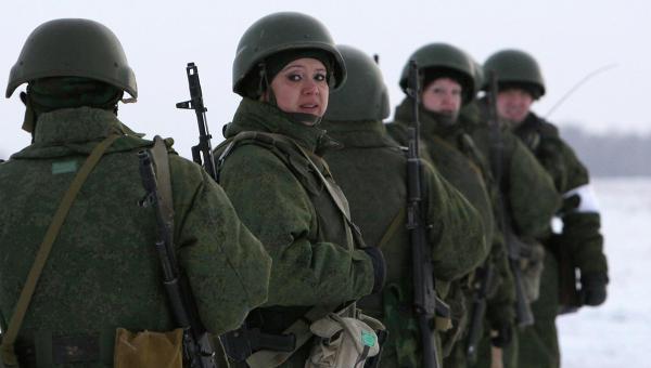 Подготовка военнослужащих по контракту среди женщин
