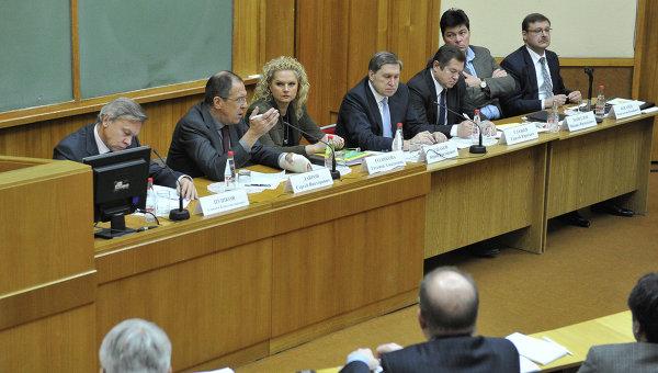 Встреча с доверенными лицами президента Владимира Путина