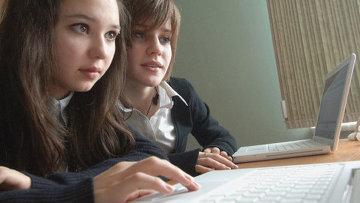 Интернет в школе. Архивное фото