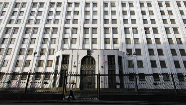 Здание Министерства обороны Российской Федерации, архивное фото