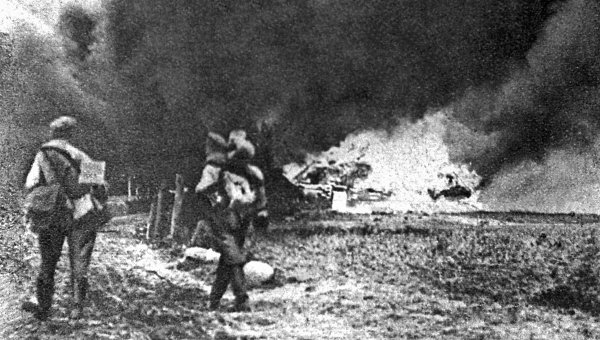 В годы Первой мировой войны на территории Галиции
