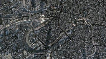 Снимок с космического аппарата «Канопус-В». Архивное фото