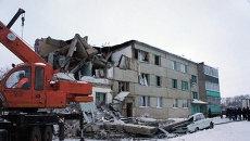 Последствия взрыва бытового газа в жилом доме Чувашии