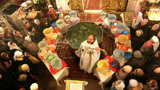 Крещенское освящение воды