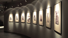 Российская экспозиция Трагедия. Мужество. Освобождение в музее концлагеря Аушвиц-Биркенау в городе Освенцим