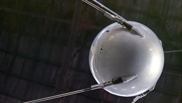Искусственный спутник Земли, архивное фото