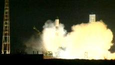 Космический корабль Прогресс М-18М отправился на МКС. Кадры с Байконура