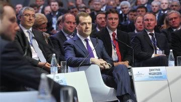 Д.Медведев на Х Красноярском экономическом форуме
