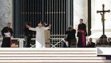 Последняя всеобщая аудиенция Папы Римского Бенедикта XVI