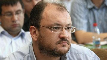 Лидер петербургского Яблока Максим Резник. Архивное фото