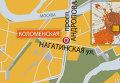 Проспект Андропова/Нагатинская улица