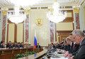 Д.Медведев проводит заседание правительства РФ