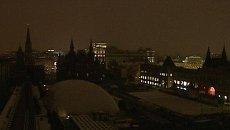 Кремль и Красная площадь погрузились в темноту в Час Земли