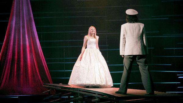 Сцена из мюзикла Алые паруса