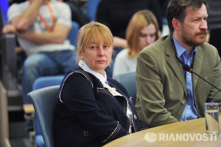 Елена Вартанова и Алексей Беляев