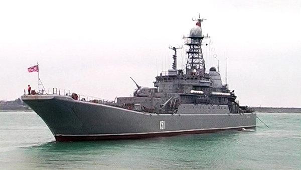 Военные учения Черноморского флота РФ. Архивное фото