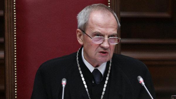 Председатель КС РФ Валерий Зорькин, архивное фото