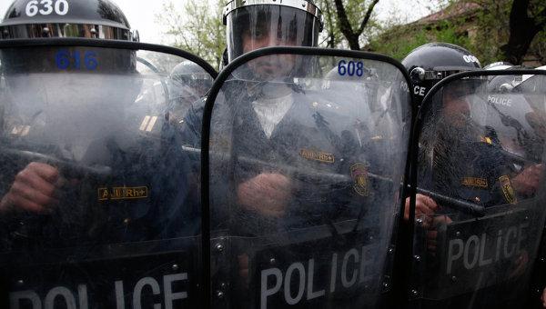 Полиция Армении. Архивное фото