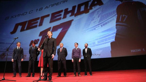 Режиссер Николай Лебедев на премьере фильма Легенда №17