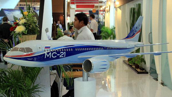 Первый публичный показ самолета МС-21 пройдет в начале июня в Иркутске