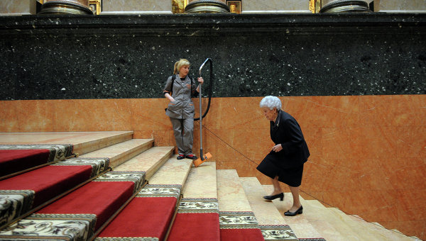 Директор Государственного музея изобразительных искусств имени А.С. Пушкина. Архивное фото