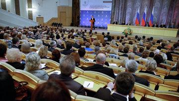 Коллегия министерства труда и социальной защиты РФ. Архивное фото