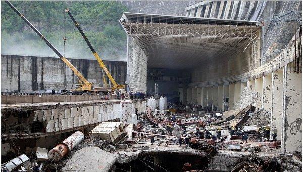 Крупные техногенные катастрофы в мире в гг РИА Новости   Авария на Саяно Шушенской ГЭС