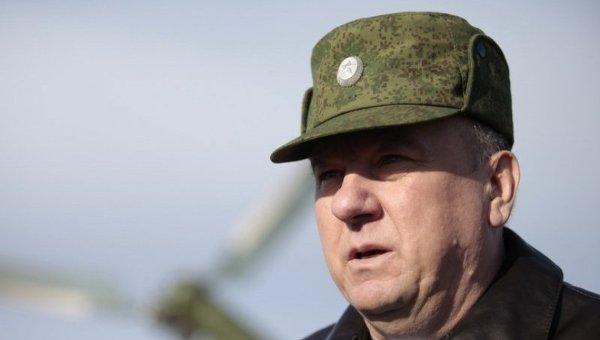 Командующий Воздушно-десантными войсками (ВДВ) генерал-полковник Владимир Шаманов. Архивное фото