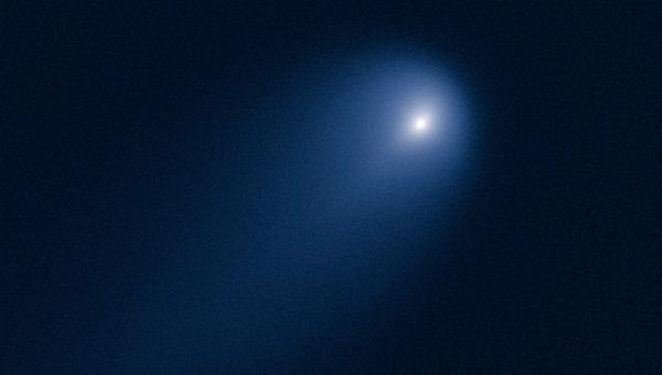 Комета ISON на снимке с космического телескопа Хаббл
