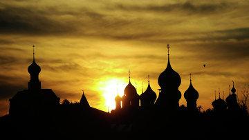 Золотой кольцо. Ростовский кремль. Архивное фото