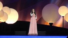 Гарипова показала окончательный вариант номера на репетиции Евровидения