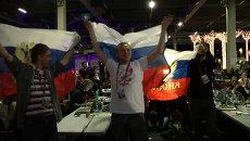 Как поддерживали Гарипову в полуфинале Евровидения в Швеции и на родине