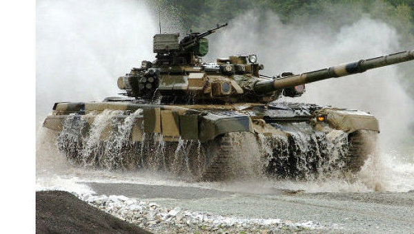 Танк Т-90С. Архивное фото