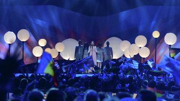 Финал международного конкурса песни Евровидение. Архивное фото