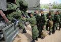 Отправка призывников в армию