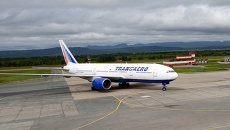 Boeing 777-200 авиакомпании Трансаэро