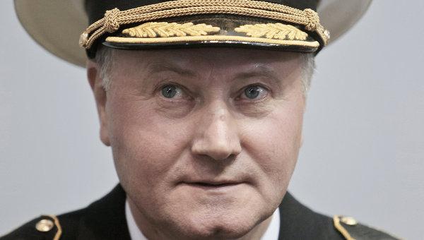 Командующий Северным флотом адмирал Владимир Королев. Архивное фото