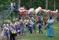 Cоциальная акция для детей и подростков мусорный дракон на фестивале новой культуры Арт-Овраг в Выксе