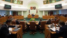 Заседание Московской городской Думы. Архивное фото