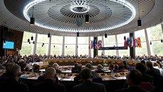 Заседание Европейского суда по правам человека. Архивное фото