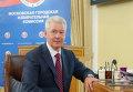 С.Собянин подал документы в Мосгоризбирком для участия в выборах мэра Москвы