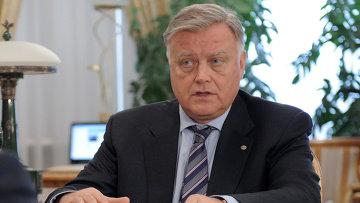 Глава ОАО РЖД Владимир Якунин. Архивное фото