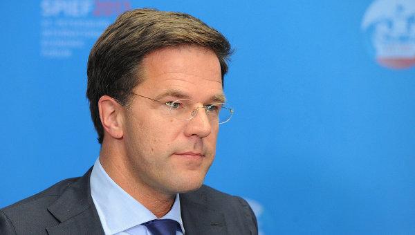 Премьер-министр Королевства Нидерландов Марк Рютте. Архивное фото