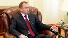 Министр иностранных дел Белоруссии Владимир Макей. Архивное фото